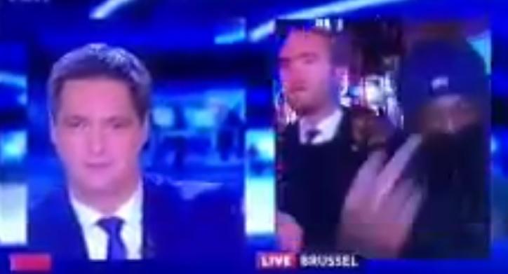 Ataque a jornalista em Bruxelas