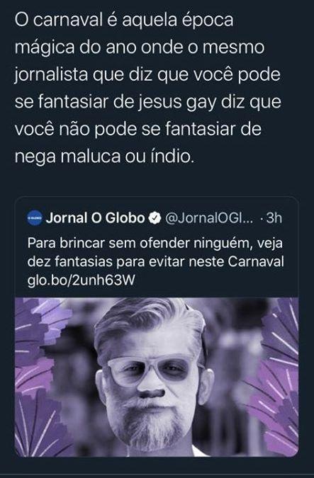 Santimônia Midiática do Carnaval