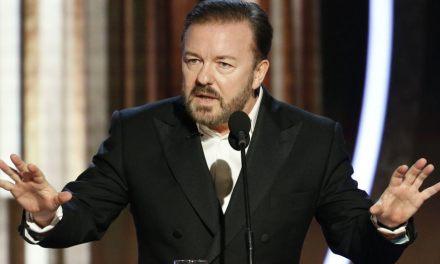 Reação da Mídia a Ricky Gervais no Globo de Ouro