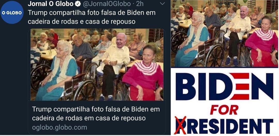 O Globo Chama Meme de Foto Falsa