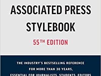 Novo manual de estilo da associated press