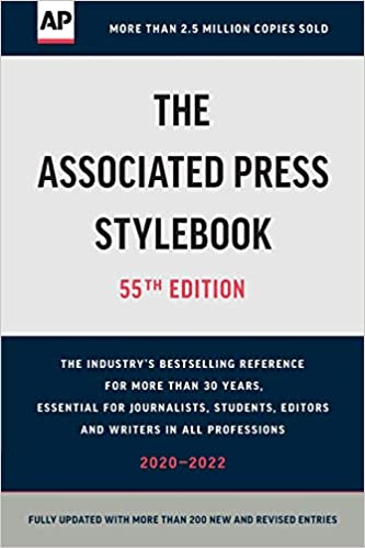 Novo manual de estilo da associated press