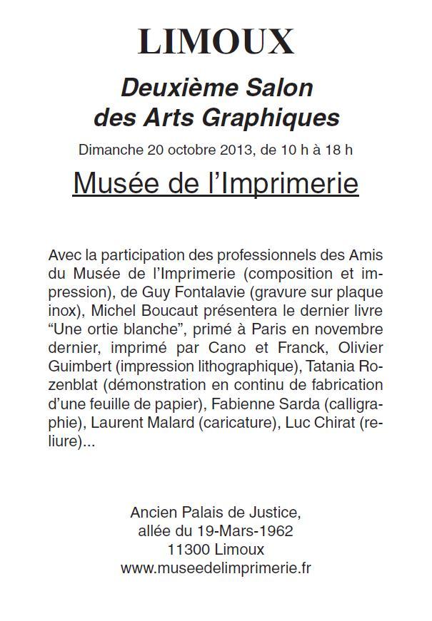 2eme Salon des Arts graphiques 2