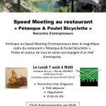 7 août 2017 : Speed Meeting d'entrepreneurs à St Ferriol