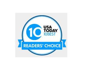 Top 10 de escolhas dos melhores pela votação dos leitores da conceituada revista americana, USA TODAY.