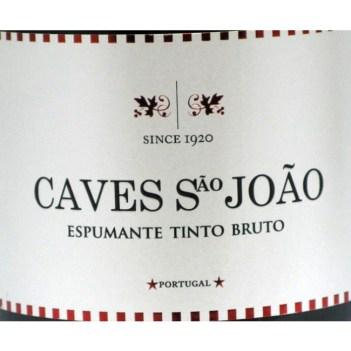Espumante Caves São João Tinto Bruto