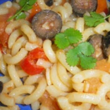 Massa com Anchovas, Malagueta e Tomate
