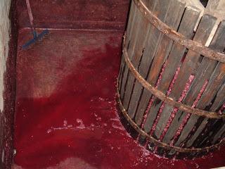 vinho prensado