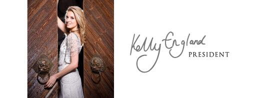 Kelly England Presidente da CWSA