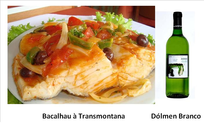 Ingredientes:  4 postas de bacalhau demolhado 4 fatias de presunto 1 colher de sopa de farinha de trigo 2-4 colheres de sopa de manteiga 1 colher de sopa de azeite 1 dl de vinho branco 2 cálices de vinho do Porto 2 cebolas 1 tomate maduro 1 ovo batido alho q.b. folha de louro salsa q.b. pimenta moída na altura q.b. puré de batata q.b. 1 ovo cozido Confecção:  Ao bacalhau retiram-se as peles, cortam-se as postas ao meio, no sentido da largura e entre as duas metades coloca-se uma fatia de presunto previamente demolhado. Colocam-se as postas, num tabuleiro de preferência de barro, que se untou com manteiga. Cobrem-se com rodelas muito finas de cebola, que foram alouradas primeiro, servindo o azeite (com manteiga), que as fritou, para misturar com o alho picado, o tomate e a farinha desfeita no vinho branco. Tempere este molho com sal e pimenta, junta-se-lhe o vinho do Porto e regam-se as postas de bacalhau com ele. Depois polvilha-se com salsa picada, cobre-se tudo com puré de batata e pinta-se com ovo batido. Vai ao forno a alourar. Sirva depois de alourado, decorado com salsa picada e ovo cozido ralado. Acompanhe com uma salada verde.