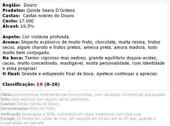 apreciacao Quinta Seara d'Ordens Porto L.B.V. 2003
