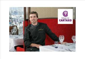 Chef Igor Martinho, proprietário e responsável pelo Restaurante MaeLuisa