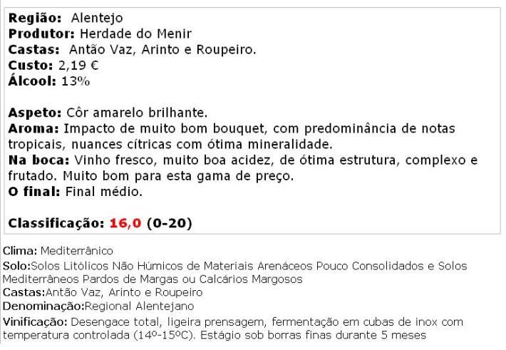 apreciacao Couteiro-Mor Colheita Branco 2013