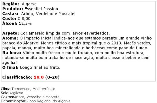 apreciacao João Clara Branco 2014