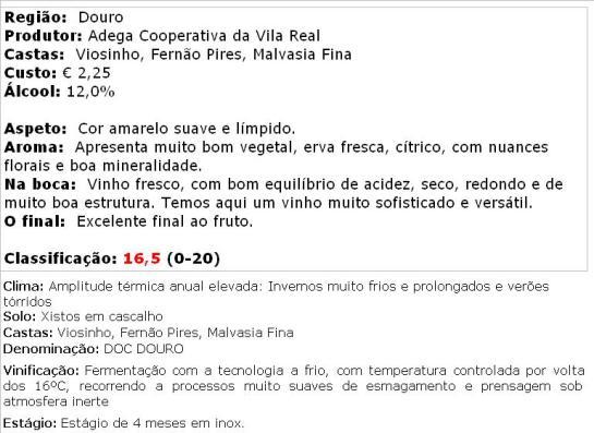 apreciacao Vila Real Branco 2013