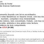apreciacao Vinho do Porto Quinta do Portal Branco Lágrima