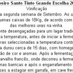 FT Ribeiro Santo Tinto Grande Escolha 2010