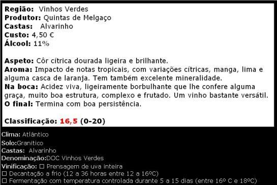 Leira do Canhoto Alvarinho 2013