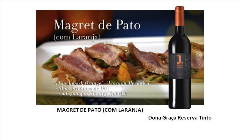 MAGRET DE PATO (COM LARANJA)