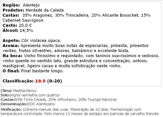 apreciacao BARON DE B TINTO RESERVA 2005