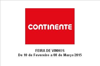 FEIRA DE VINHOS CONTINENTE