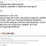 apreciacao Quinta do Ferrel Reserva Tinto 2013 repetição