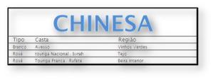 2 Chinesa