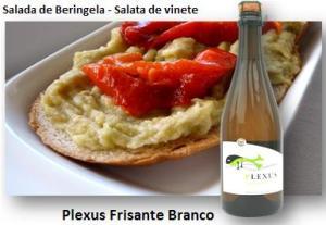 ENTRADA - Com beringela e queijo romeno