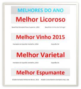 MELHORES DO ANO 2015