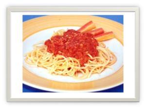 prato Com Molho de Tomate