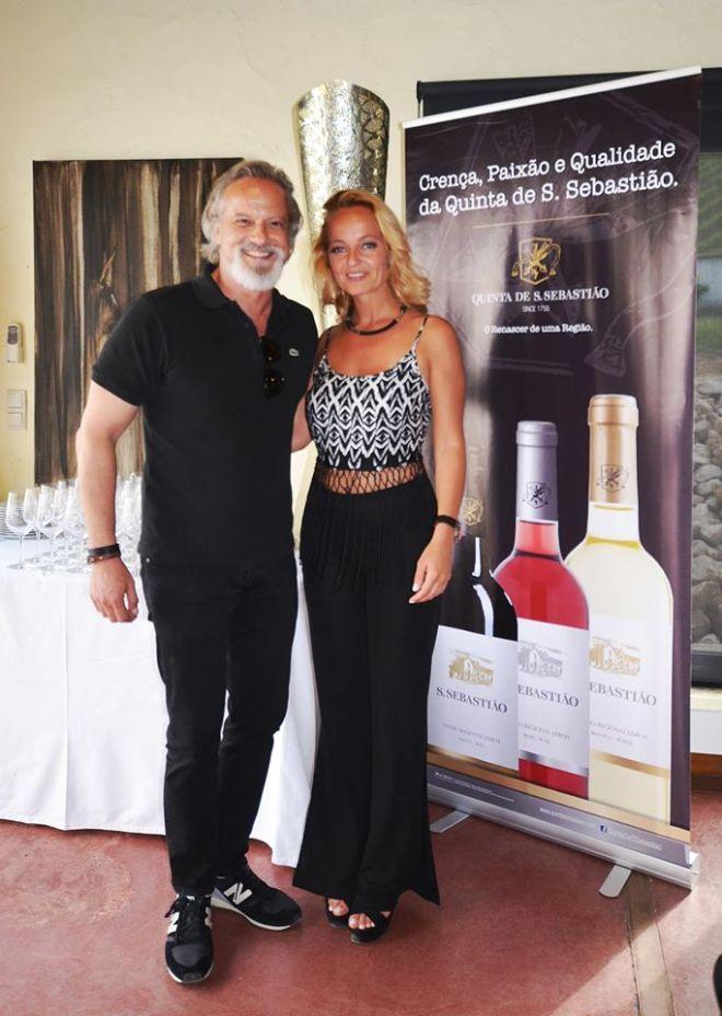Bárbara Norton de Matos e Ricardo Carriço