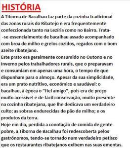 hrpTIBORNA DE BACALHAU