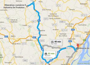 1 - Alverca até à Riberalves