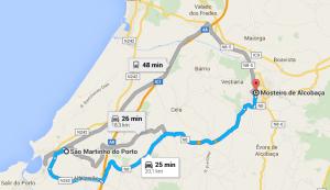 2 - De São Martinho do Porto ao Mosteiro de Alcobaça