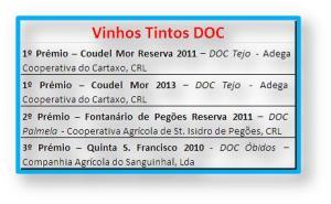 VINHOS TINTOS DOC