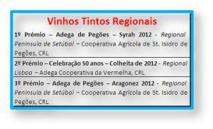 VINHOS TINTOS REGIONAIS