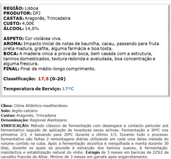 apreciacao Monte Alentejano Reserva Tinto 2013