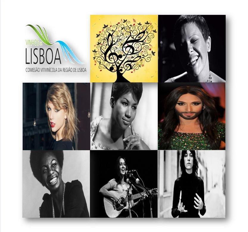 7 enólogas da Câmara de Provadores da Comissão Vitivinícola da Região de Lisboa (CVR Lisboa) sugerem 7 vinhos em homenagem a 7 mulheres que marcaram a história da música.