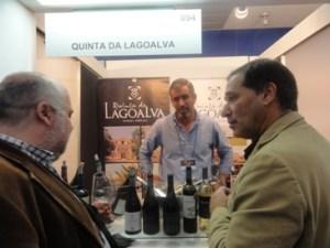 Na Quinta da Lagoalva, com o enólogo Diogo Campilho e o amigo Francisco Trindade