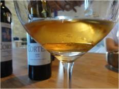 Orange Wine em copo