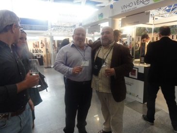 Com o amigo Ricardo Santos. Somos dois ex-ISEL!