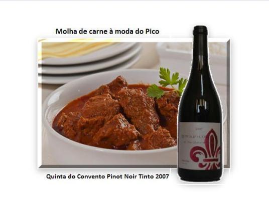 Molha de carne à moda do Pico