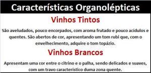 DO LAGOS Características Organolépticas
