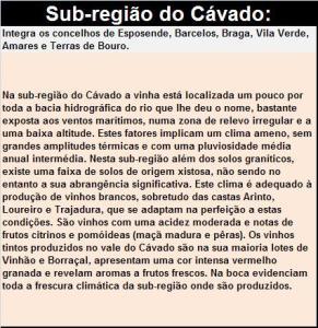 DOP VINHO VERDE CAVADO