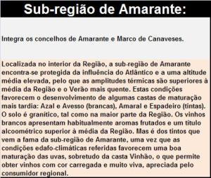 DOP VINHO VERDE SR AMARANTE