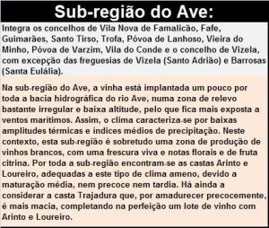 DOP VINHO VERDE SR AVE
