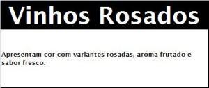 IGP MINHO Características Organolépticas ROS
