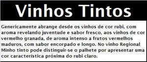 IGP MINHO Características Organolépticas VTT