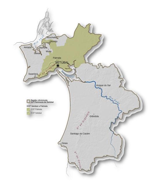 Mapa IGP PENÍNSULA DE SETÚBAL (Clique para ampliar)