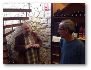 Com o proprietário, Sr. Luís Pequeno
